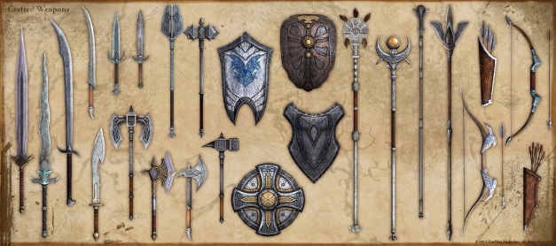 crafted-weapons-shields-teso-concept-art